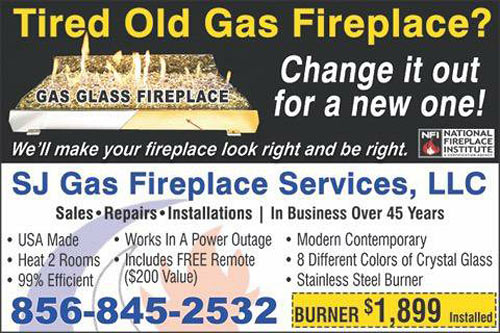 South Jersey Gas Fireplace Specials